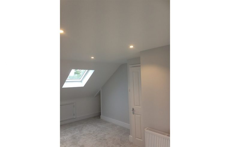 Mansard loft conversion in London